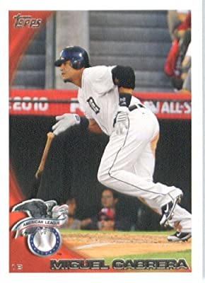 2010 Topps Update Baseball Card #US -250 Miguel Cabrera - Detroit Tigers (All Star Game) MLB Trading Card