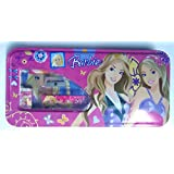 Bright Multi-colored Window Pencil Box---Best Quality---KIDS MULTI PURPOSE PENCIL Box (Barbie)