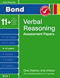 Cover of Bond Papers in Verbal Reasoning 9-10 years by J M Bond 0748781145