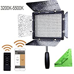 YONGNUO YN300 III YN-300 III LED Camera Video Light with Adjustable Color Temperature 3200K-5500K for Canon Nikon Pentax Olympas Samsung