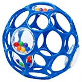 NewBorn, Baby, Rhino Toys Oball Rattle (Colors May Vary) New Born, Child, Kid
