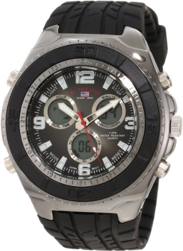 s watches u s polo assn sport s us9024 black