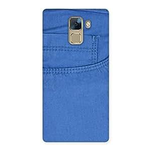 Men Royal Blue Back Case Cover for Huawei Honor 7