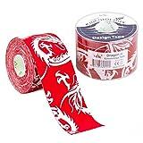 Nasara Kinesiology Tape 5m X 5cm (Red Dragon)