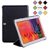 WAWO Samsung Galaxy Tab PRO 10.1 inch Tablet Smart Cover Fold Case - Black