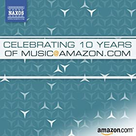 Celebrating 10 Years of Music @ Amazon.com