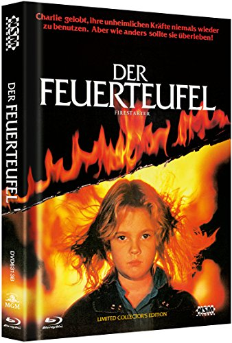 Der Feuerteufel - uncut (Blu-Ray+DVD) auf 500 limitiertes Mediabook Cover B [Limited Collector's Edition] [Limited Edition]
