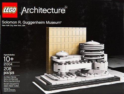 "4"", Solomon R. Guggenheim Museum Model Set, 208 Piece - 51nO 2Bz0qZbL - 4″, Solomon R. Guggenheim Museum Model Set, 208 Piece"