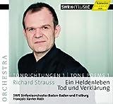 リヒャルト・シュトラウス : 交響詩 「英雄の生涯」 「死と浄化」 (Richard Strauss : Ein Heldenleben, Tod und Verklaerung / Francois-Xavier Roth, SWR Sinfonieorchester Baden-Baden und Freiburg) [輸入盤]