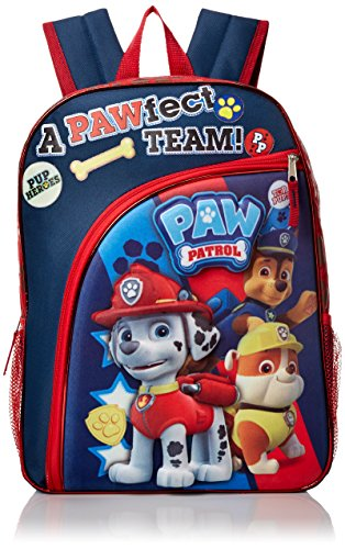 ab3893918c1 Paw Patrol Boys' A Pawfect Team 16 Inch Molded Eva Backpack - Import ...