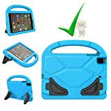iPad Mini Case, iPad Mini 4 Case, Kids Covers Friendly Light Weight EVA Foam Kid-Proof Drop-Proof Tablet Holder Cover with Stand Handle Universal for Apple iPad Mini, Mini 2, Mini 3 and Mini 4-Blue (Color: Blue)