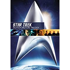 cover of Star Trek Movie Trilogy