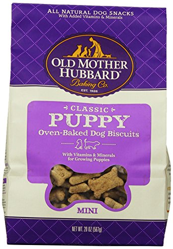 Old Mother Hubbard Crunchy Classic Snacks For Dogs, Mini, Puppy, 20-Ounce Bag