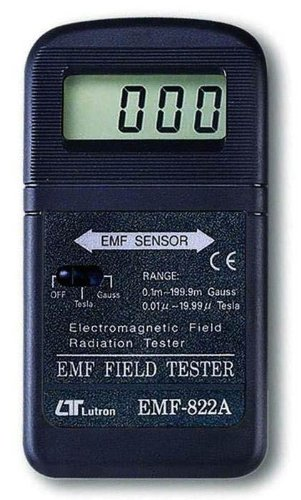 Lutron 822-A Fully Digital EMF Meter (Wide Range, High Resolution) (Digital Gauss Meter compare prices)