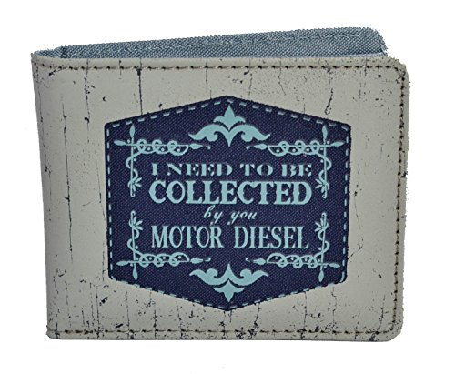 I need to be collected by you motor diesel , Portafogli  Donna Blu Perla