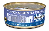 Natural Balance Venison Green Pea Formula Cat Food (Pack of 24 6-Ounce Cans)