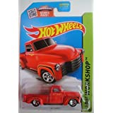 HOT WHEELS SHOWDOWN SCAN &RACE! HW WORKSHOP RED 52 CHEVY 244/250
