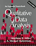 img - for Qualitative Data Analysis: An Expanded Sourcebook, 2nd Edition by Matthew B. Miles, A. Michael Huberman (January 12, 1994) Paperback 2nd book / textbook / text book