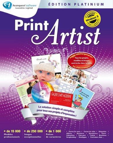 Print artist – édition platinium