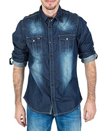 M.O.D Camisa Hombre Azul