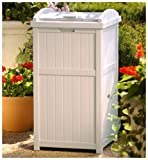 Suncast GH1732 Outdoor Trash Hideaway 	$29.99