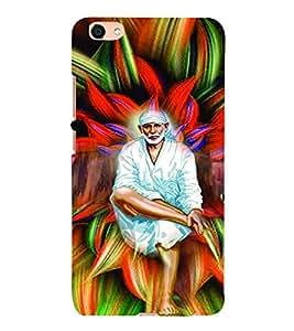 PrintVisa Religious & Spiritual Sai Baba 3D Hard Polycarbonate Designer Back Case Cover for VIVO X7L