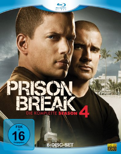 Prison Break - Season 4 [Blu-ray]