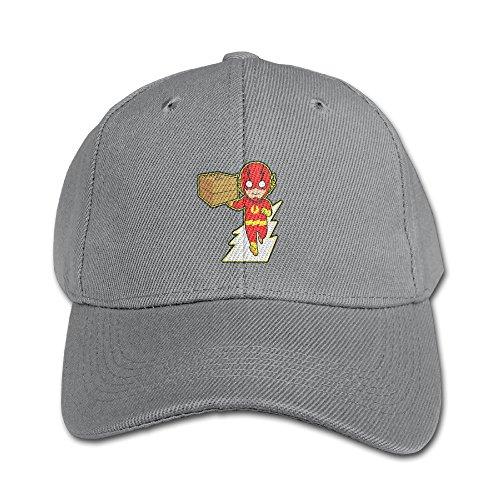 KIDDOS Little Boys Girls Toddler Cartoon Flash Baseball Cap Cotton Cap - Adjustable Hat Ash