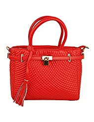 Lion Heart Claudia Hand-held Bag (Red)