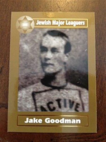 2003 Jewish Major Leaguers GOLD 13 Jake Goodman Pittsburgh Pirates 1882 (Jake Goodman compare prices)