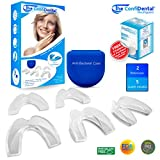 The ConfiDental Dental Guard - Moldable Dental Protector, Premium Pack of 5 including 3 Regular Protection and 2 Heavy Duty Dental Guards for Teeth Grinders, and Bruxism. Free 6 Cleansing Tablets.