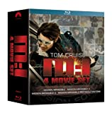 MISSION IMPOSSIBLE 1+2+3+4 COFFRET BLURAY