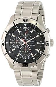 Seiko Men's SKS401 Analog Display Japanese Quartz Silver Watch