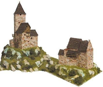Maquette en céramique - Diorama : Grand et petit refuges