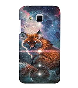 EPICCASE Abstract Wolf Mobile Back Case Cover For Samsung Galaxy J3 (Designer Case)