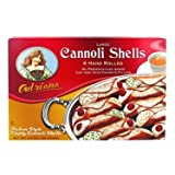 Adriana Large Cannoli Shells - 6 pack