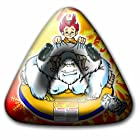 Aqua Leisure Winter Inflatable Yeti Snow Triangle Wedge Tube Sled  for 1 ( One ) Single Rider on Sledding Hill, Fast yet Safe, with 2 ( Two ) Big Durable Grip Handles and Repair Kit, 48