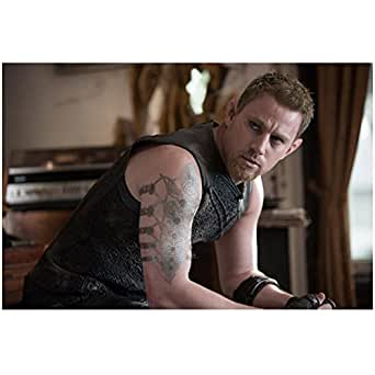 Jupiter ascending channing tatum as caine wise sleeveless for Channing tatum tattoo side by side