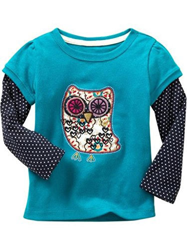 Baby Box Little Girls' kids long sleeve T-Shirts Size 5T