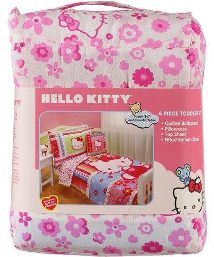 Twin Size Hello Kitty Comforter Set