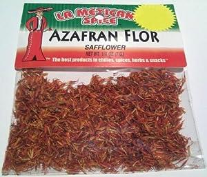 Amazon.com : El Guapo Azafran en flor (Safflower) : Gourmet Food