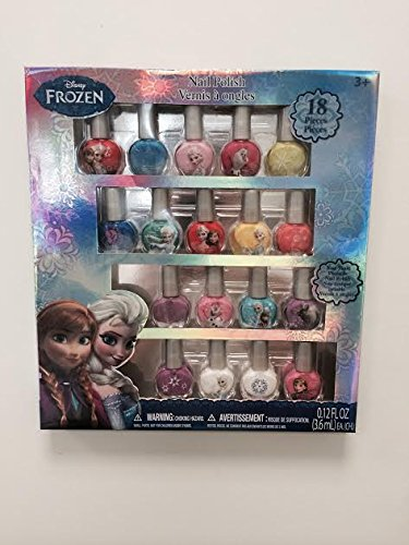 Best Review Of Disney Frozen Nail Polish 18 Pack