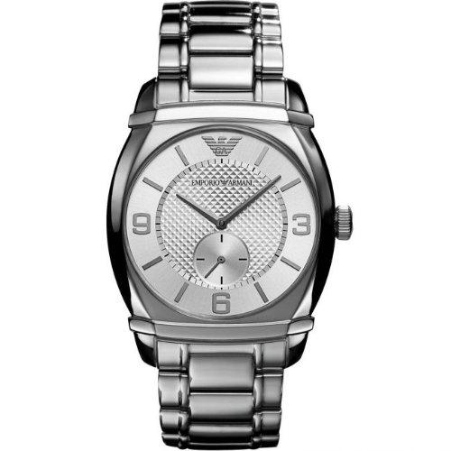 Emporio armani hombre-reloj analógico de cuarzo de acero inoxidable AR0339