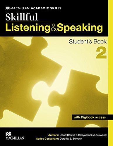 Skillful. Listening & speaking. Student's book. Con espansione online. Per le Scuole superiori: SKILLFUL 2 Listening & Speaking Sts Pack