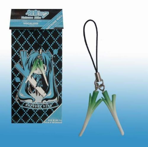 Treasure Mart is Hatsune Miku Cellphone green onion green onions ultra-realistic!
