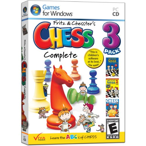 Learn to Play Chess with Fritz & Chesster: Chess Complete 3-Pack (Chess Software For Kids compare prices)