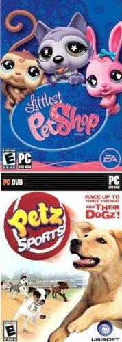 Pet 2 Pack: Petz Sports + Littlest Pet Shop