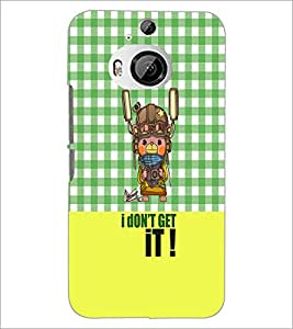 Printdhaba Quote D-3642 Back Case Cover For Htc One M9 Plus