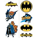 Batman Temporary Tattoos 2 Sheets, 1 Pkg
