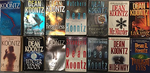 Dean Koontz Paperback Novel Collection 14 Books (Dean Koontz Taking compare prices)